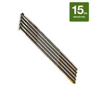 Collated Nails 15 Gauge Da Angled Finish Nails 304 Stainless Steel 4000ct Box