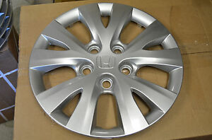 New 15 Honda Civic Hub Cap Caps Hubcap Wheel Cover 2011 2013 Oem Genuine Tr0a01