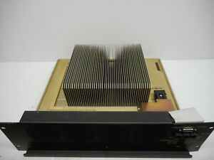 Motorola Cln1677a Radio 150w Amplifier 800 Mhz W Large Heat Sink