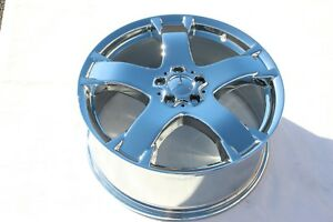 4 New Chrome 20 Mercedes Benz Gl450 Oem Wheels Rims Gl550 Gl350 Gl320 65450