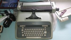 Ibm Electric Typewriter Green used