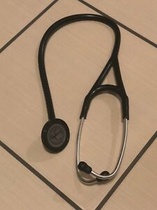 3m Littmann Master Cardiology Stethoscope 27 In Black 2160 Free Shipping
