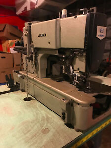 Juki Lbh 783 Lockstitch Buttonhole Sewing Machine used Includes Table