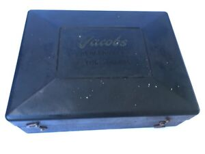 Set Of Four Jacobs 900 Series Rubber Flex Collets In Original Box free Shipping