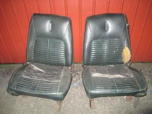Pair Used Bucket Seat Cores Mopar Chevy Ford 1960 s 1970 s