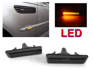Depo Light Bar Led Smoke Side Marker Light For 01 06 Bmw E46 M3 2d Coupe cabrio