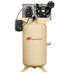 Ingersoll Rand 2340n5 v 575 volt 80 gallon 3 phase Air Compressor Value