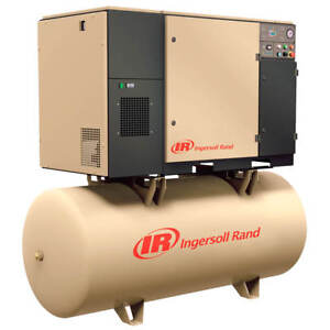 Ingersoll Rand Up6 15c 125 230v 120 gallon 3 phase 125 psi 15 hp Air Compressor
