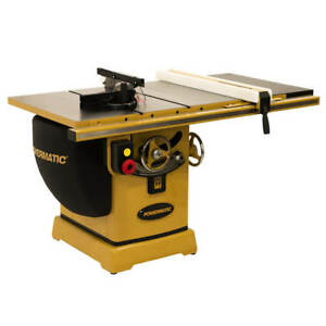 Powermatic Pm23150wk 230v 50 inch 3 Hp Rip Table Saw W Accu fence And Bench