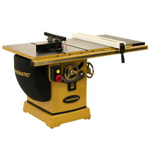 Powermatic Pm25150wk 230v 50 inch 5 Hp Rip Table Saw W Accu fence And Bench