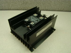 Watlow Controls Ssr 480 50h dc1 Solid State Relay W Hs50h dc Heat Sink