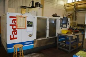Fadal Vmc 6030ht Cnc Vertical Machining Center W 4th Axis Milling Machine