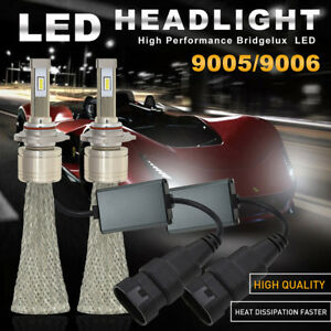 Newest Fanless 9005 Cree Led Headlight Kit High Beam Bulbs 100w 11000lm Car Lamp