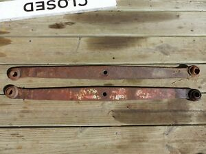 Old Farm Tractor Ford 2n 8n 9n Jubilee Massey Ferguson 3 Point Hitch Lift Arms