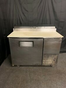 True Tpp 44 Used 44 Commercial Pizza Prep Cooler Refeigerator