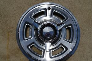 1965 Pontiac Gto Tempest Spinner Wheel Cover Hubcap Oem 1965 65