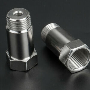 2x O2 Oxygen Sensor Extender Extension Spacer M18 X 1 5 02 Bung Adapter Obd2