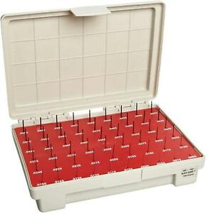 Vermont Gage Steel Go Pin Gage Set Black Oxide Tolerance Class Zz 0 0610 Of