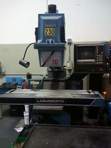 Lagun 717 Knee Mill Dynapath Delta Vertical Mill Max 4250 Rpm