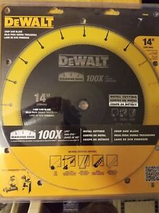 Dewalt 14 Diamond Edge Metal Cutting Chop Saw Blade