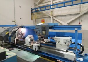 Mazak Power Master N 3000 Cnc Flat Bed Lathe Turning Center haas Mori Seiki