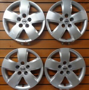 Set Of 4 53076 New 16 Bolt On Hubcap Wheel Cover 2007 2008 For Nissan Altima