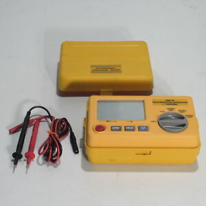Amprobe Amb 5d Autoranging Insulation Tester With Leads