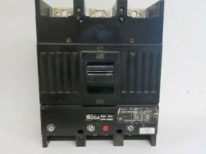 G e Tjj436400 Circuit Breaker Box 400 A 600 V