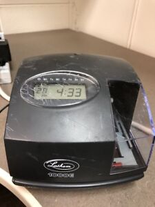 Lathem 1000e Electronic Document Stamp Digital Time Clock Power Adapter 62810j