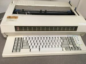 Ibm Wheelwriter 1500 Electronic Typewriter By Lexmark 62817j