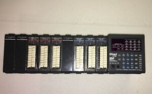 Direct Logic Plc 305 D3 10b 10 1 Slot Rack With Dl340 Cpu D3 16na