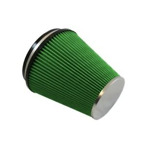 Green Filter Usa 2382 High Flow Universal Cone Reusable Air Filter 6 Id 8 L