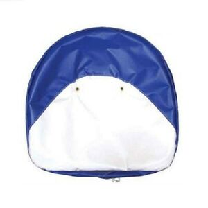 Ford New Holland Tractor 19 Blue White Pan Seat Cover Cushion C 116 Farmer