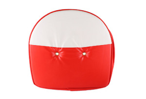 International Ford Case Massey Tractor 21 Red White Pan Seat Cover Cushion