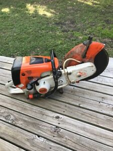 Stihl Ts700 Gas Concrete Cut off Saw