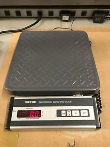 Siltec Commercial residential Heavy Duty Electronic Weighing Scale 100lb Max