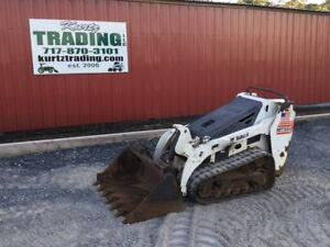 2006 Bobcat Mt55 Tracked Stand On Skid Steer Loader