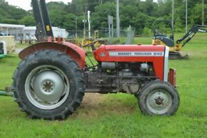 Massey Ferguson 240 Good Tractor Remote Hydr