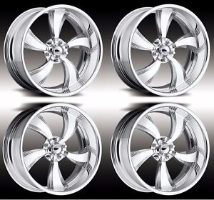 18 Inch Pro Wheels Rims Twisted Killer Intro Foose Usmags Specialties Us Mags