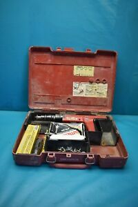 Used Hilti Dx350 Fastening Nail Gun With Case