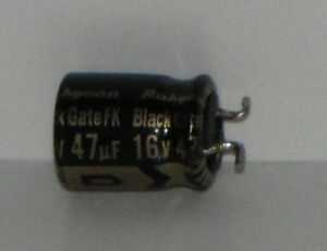 Rubycon Black Gate Fk Capacitor 16v 47uf extremely Rare