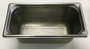 Lot Of 4 Vollrath Super Pans 1 3 Size Steam Table Pans Anti Jam Stainless Steel