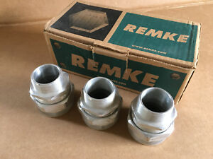 Box Of 3 Remke Rsr 418 Aluminum 1 1 4 Hub Cord Grip 1 000 1 125 Cable Range