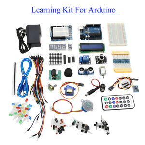 Learning Kit With A Dedicated Power Supply 9v 1a With Box Practical For Arduino