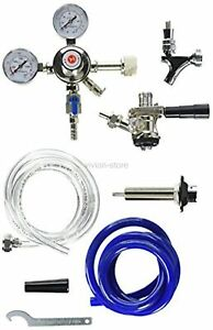 Kegco Kegerator Standard Conversion Kit Door Mount Draft Beer Sanke D Keg Tap