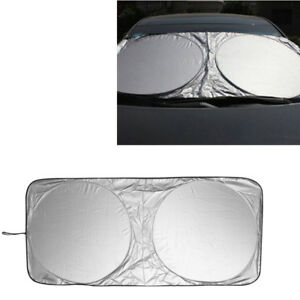 Auto Car Front Rear Window Foldable Jumbo Visor Sun Shade Windshield Cover Block