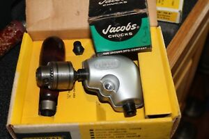 General No 924 Right Angle Drill Attachment W New Jacobs Chuck Made In Usa