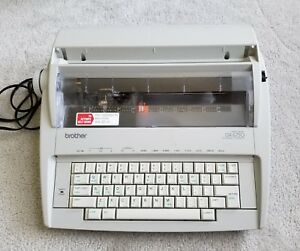 Brother Correctronic Gx 6750 Electric Typewriter W Keyboard Cover Tested Works