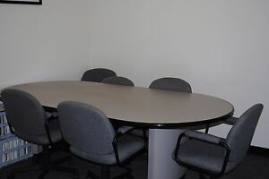 Conference Table 8 By 4 With 8 Chairs