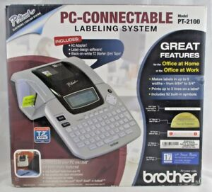 Brother Ptouch Pt 2100 Pc Connectable Labeling System Brand New In Box 300 Rtl